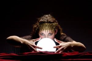 seer and crystal ball