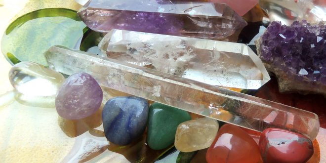 Crystals to Learn to be a Psychic